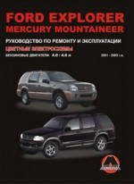 Ford Explorer / Mercury Mountaineer (с 2001) Рем.Экспл.Цв.эл.сх.бензинМонолит